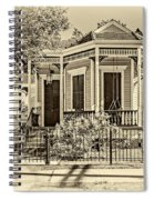New Orleans Charm 2 Spiral Notebook
