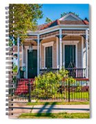 New Orleans Charm Spiral Notebook