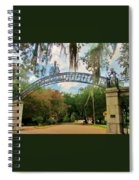 New Orleans City Park - Pizzati Gate Entrance Spiral Notebook