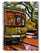 New Orleans Classique Line Art Spiral Notebook