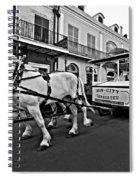 New Orleans Cortege  Spiral Notebook
