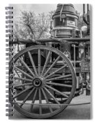 New Orleans Fire Department 1896 Bw Spiral Notebook