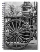 New Orleans Fire Department 1896 Bw Spiral Notebook