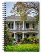 New Orleans Frat House Spiral Notebook