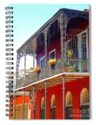 New Orleans French Quarter Architecture 2 Spiral Notebook