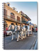 New Orleans Funeral Spiral Notebook
