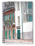 New Orleans Gov. Nichols And Royal St Spiral Notebook