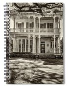 New Orleans Home - Paint Sepia Spiral Notebook