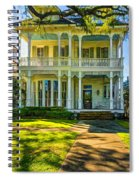 New Orleans Home - Paint Spiral Notebook