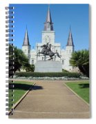 New Orleans - Jackson's Square Spiral Notebook