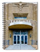 New Orleans Lakefront Airport Spiral Notebook