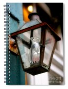 New Orleans Lamp Spiral Notebook
