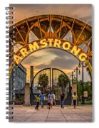 New Orleans Louis Armstrong Park  2 Spiral Notebook