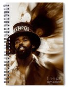 New Orleans Olympia Second Line Grand Marshall Spiral Notebook