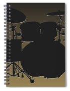 New Orleans Saints Drum Set Spiral Notebook