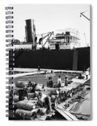 New Orleans Shipping, 1903 Spiral Notebook