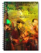 New Orleans Spotted Cat 03 Madness Spiral Notebook