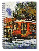 New Orleans Streetcar Paint Vg Spiral Notebook