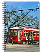 New Orleans Streetcar Spiral Notebook