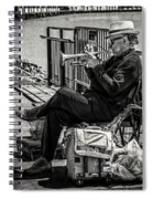 New Orleans Waterfront Jazz Spiral Notebook