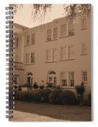 New Perry Hotel In Sepia Spiral Notebook
