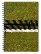 New Perspective Of The Picket Fence Spiral Notebook