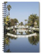 New Photographic Art Print For Sale Canals Of Venice California Spiral Notebook