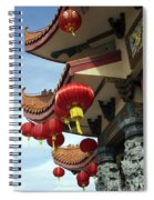 New Photographic Art Print For Sale Downtown Chinatown Spiral Notebook