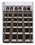 Vacant Downtown Building Los Angeles 3 Spiral Notebook