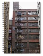 New Photographic Art Print For Sale Downtown Los Angeles 5 Spiral Notebook