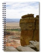 New Photographic Art Print For Sale Ghost Ranch New Mexico 10 Spiral Notebook