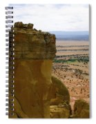 New Photographic Art Print For Sale Ghost Ranch New Mexico 11 Spiral Notebook