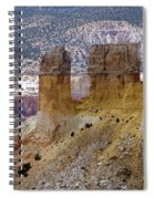 New Photographic Art Print For Sale Ghost Ranch New Mexico 9 Spiral Notebook