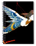 Iconic London Camden Puppets The Flying Princesses Spiral Notebook