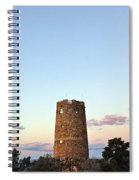 New Photographic Art Print For Sale Indian Watchtower At Grand Canyon Spiral Notebook