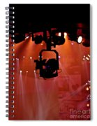 New Photographic Art Print For Sale Lights Camera Action Backstage At The American Music Award Spiral Notebook