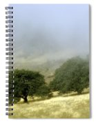 Mist In The Californian Valley Spiral Notebook