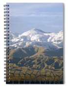 New Photographic Art Print For Sale Palm Springs Wind Farm Landscape Spiral Notebook