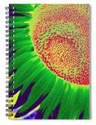 New Photographic Art Print For Sale Pop Art Sunflower 2 Spiral Notebook