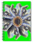 New Photographic Art Print For Sale Pop Art Swan Flower On Green Spiral Notebook