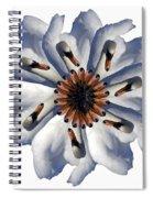 New Photographic Art Print For Sale Pop Art Swan Flower On White Spiral Notebook