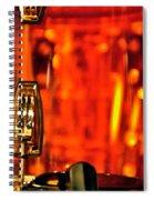 Transparent Orange Drum Backstage At The American Music Award Spiral Notebook