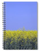 New Photographic Art Print For Sale Yellow English Fields 2 Spiral Notebook
