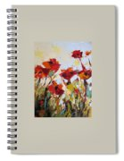 New Poppies Spiral Notebook