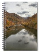 New River Fall Reflections Spiral Notebook