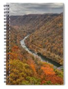 New River Gorge Overlook Fall Foliage Spiral Notebook