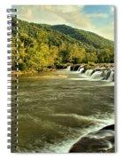New River Landscape Spiral Notebook