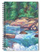 New River Fast Water Spiral Notebook