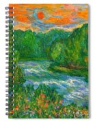 New River Rush Spiral Notebook
