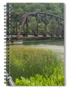 New River Scene 14 B Spiral Notebook